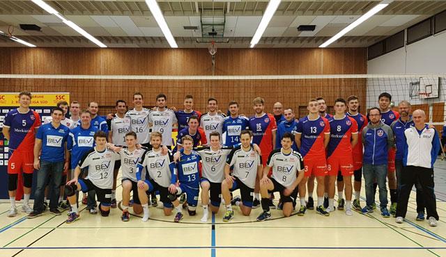 """Arbeitssieg für die """"jungen Wilden"""" - Foto: United Volleys"""