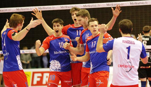 Erneuter Krimi oder Kurzgeschichte? - Foto: United Volleys/Gregor Biskup