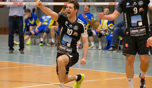 Eine Supersaison der Oshino-Volleys - eine Halbzeitbilanz - Foto: VC Eltmann / Oshino Volleys Eltmann