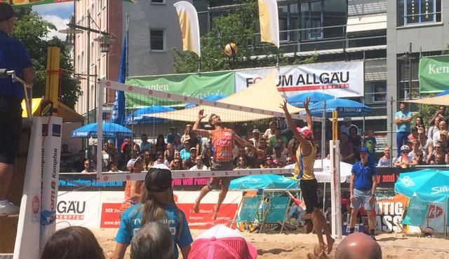 Kempten schüttet Copacabana des Allgäus auf - Foto: Feedback