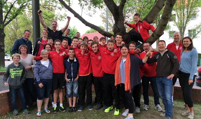 U16 Volleyball der TuS Kriftel: Stark gespielt bei Deutscher Meisterschaft  - Foto: TuS Kriftel