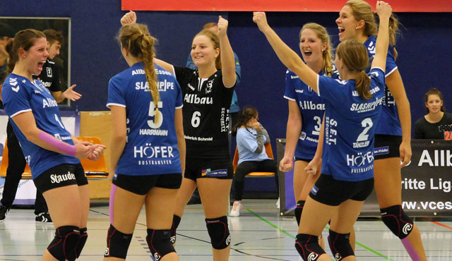 VC Allbau Essen steigt in 2. Bundesliga Nord auf - Foto: Michael Gohl