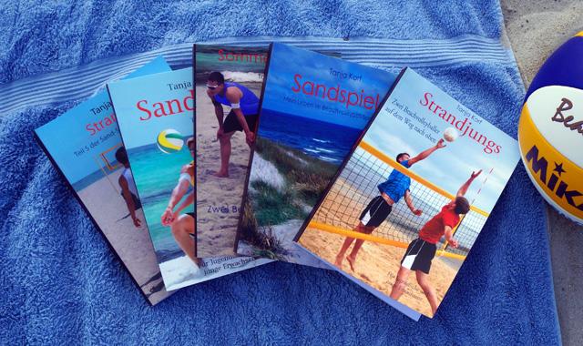 Gewinnspiel: Gewinne jeweils ein Beachvolleyball-Buch von Tanja Korf - Foto: Timo