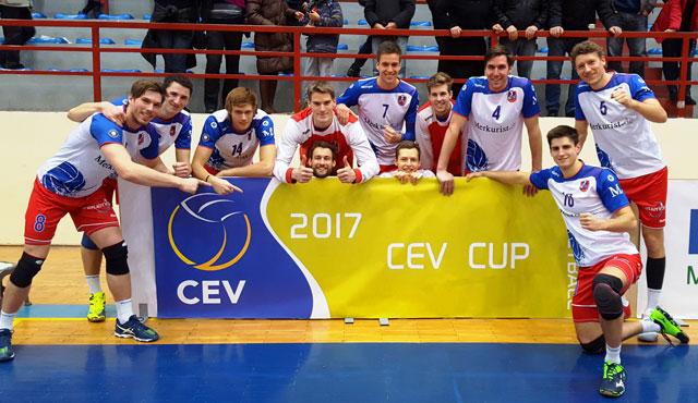 Europapokal-Premiere fast ohne Eigenfehler  - Foto: United Volleys