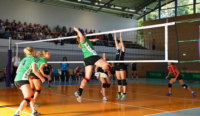 proWIN Volleys TV Holz gewinnen Saarlandpokal - Foto: proWIN Volleys TV Holz, Dirk Reckstadt