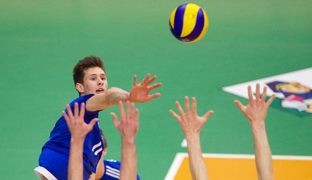 Volley YoungStars können ihren Trainer nicht mit einem Sieg beglücken - Foto: Günter Kram