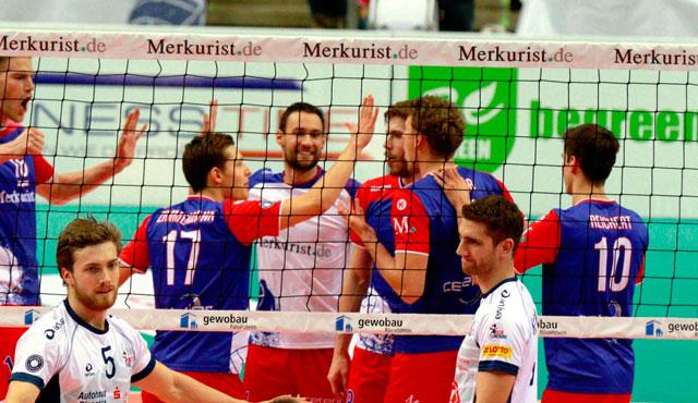 """Revanche oder erneuter Auswärts-""""Ausreißer""""?  - Foto: United Volleys/Gregor Biskup"""
