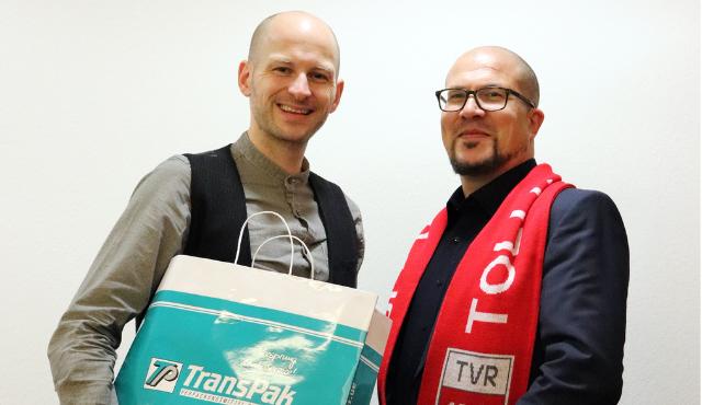 Die TransPak AG wird neuer Partner des TV Rottenburg - volleyballer.de