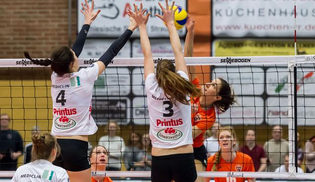 Straubings Volleyballerinnen haben das nächste Top-Spiel vor der Brust - Foto: Schindler