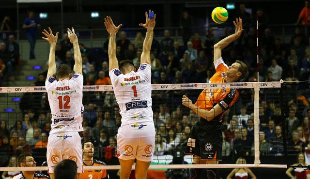 BR Volleys im Konzert der ganz Großen - Foto: Eckhard Herfet