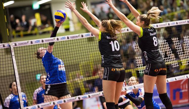 Ladies in Black holen weitere wichtige drei Punkte in der Meisterschaft - Foto: Ladies Black Aachen // Luz Müller