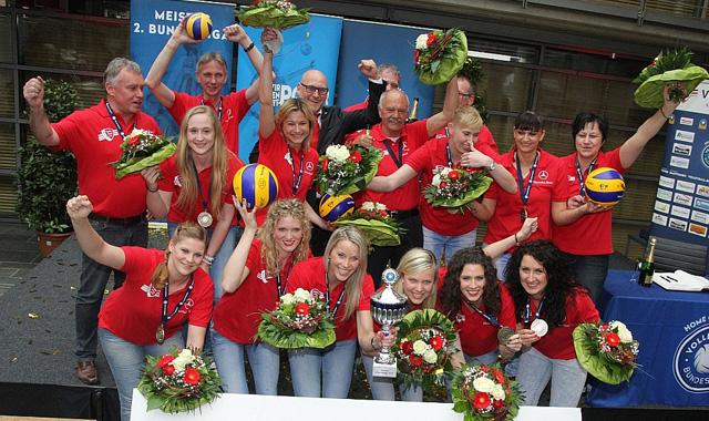 2. Volleyball Bundesligen legen im September los - Foto: Hubert Lammers