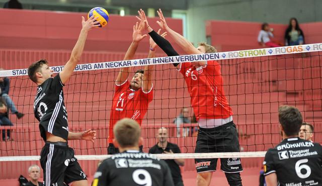 Generalprobe gegen Volley Amriswil - Foto: Ralph Kunze