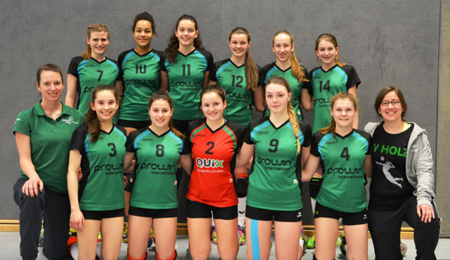 proWIN Volleys TV Holz präsentieren die Südwestdeutschen Meisterschaften U18 weiblich - Foto: proWIN Volleys TV Holz