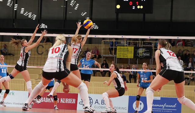 Der VC Wiesbaden verzichtet auf Teilnahme am Europapokal - Foto: Detlef Gottwald