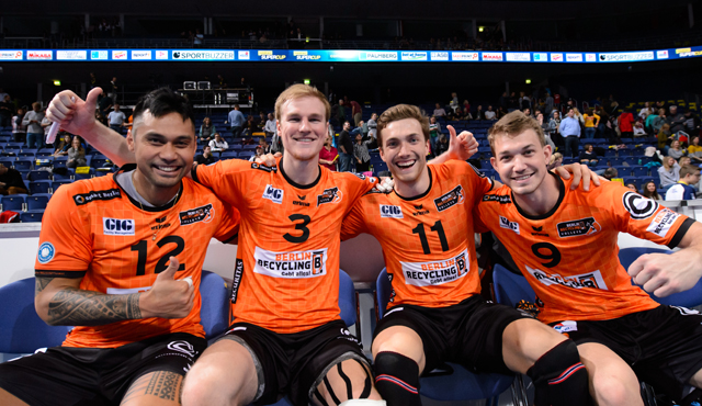BR Volleys gewinnen comdirect Supercup - Foto: Conny Kurth