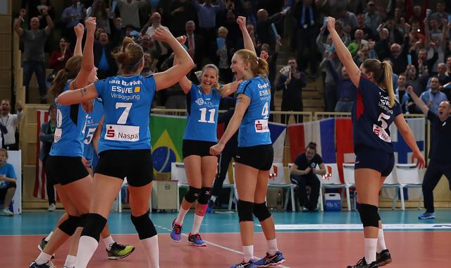 VC Wiesbaden vor Europapokal-Rückspiel in Polen - Foto: Detlef Gottwald