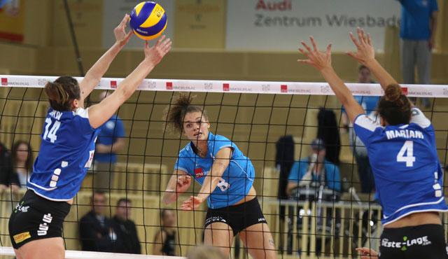 VC Wiesbaden schlägt Suhl zum Saisonauftakt - Foto: Detlef Gottwald