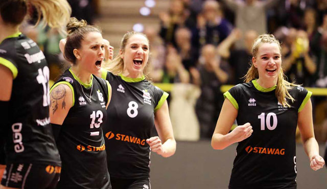 LiB : USC - Samstag ist Derbytag - Ladies in Black Aachen\\ Fotograf-Aachen.de
