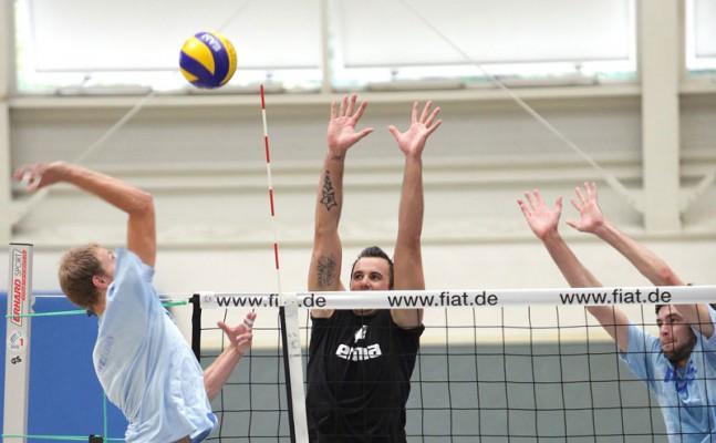 RWE Volleys gewinnen Testspiel gegen Vizemeister Lennik - Foto: Tom Schulte