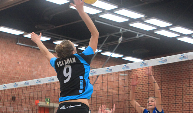 Kölner Volleyballerinnen erleiden bittere Niederlage in Herne - Foto: Ulla Barnick