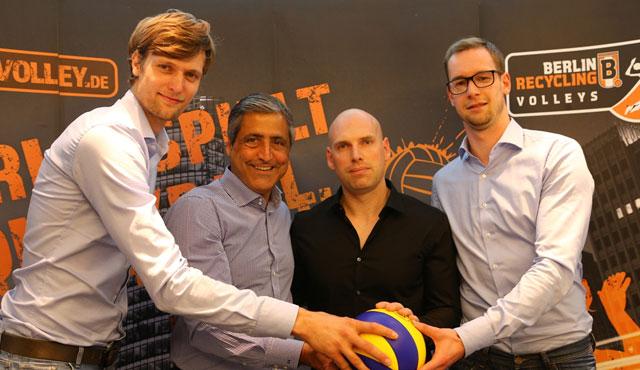 Luke Reynolds als neuer BR Volleys-Trainer vorgestellt - Foto: Eckhard Herfet