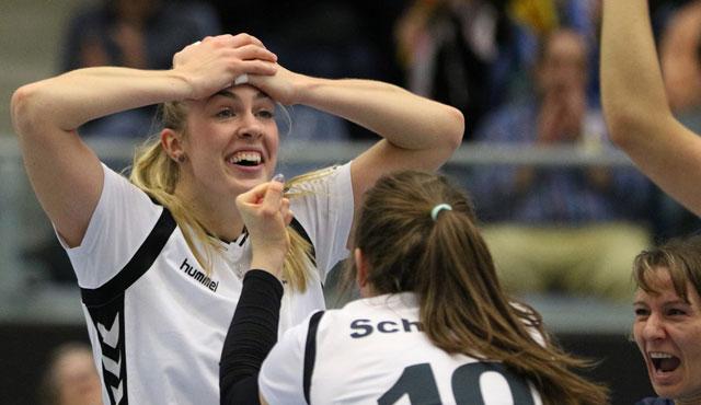 Nie aufgegeben! Volleyball-Team Hamburg kämpft sich zum Befreiungsschlag - Foto: VTH/Lehmann