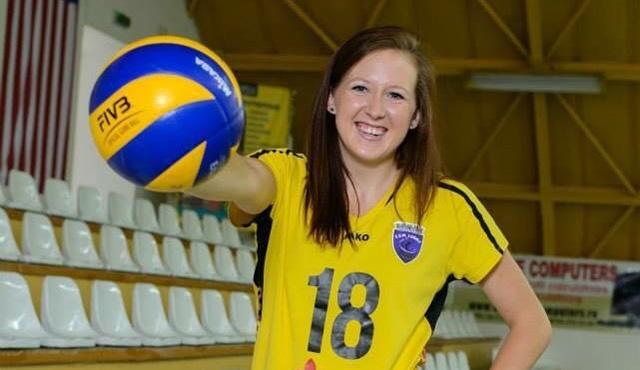 Krista DeGeest schließt Suhls Block - Foto: VfB Suhl LOTTO Thüringen