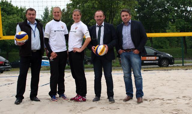 NawaRo Beach-Team Karnbaum/Niemczyk hat in Dresden Viertelfinale im Visier - Foto: Georg Kettenbohrer