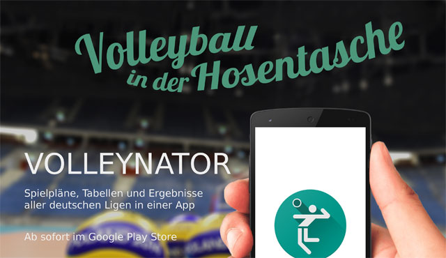 Volleyball in der Hosentasche - Foto: Volleynator