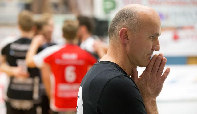 Heißes Match für die Stadtchronik - Foto: VC Eltmann / Oshino Volleys Eltmann