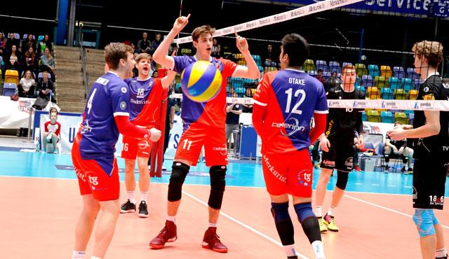 Mit Bravour in die Bresche gesprungen - Foto: United Volleys/Manfred Neumann