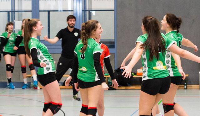 proWIN Volleys TV Holz präsentieren die Deutschen Meisterschaften U18 weiblich - Foto: Georg Kunz