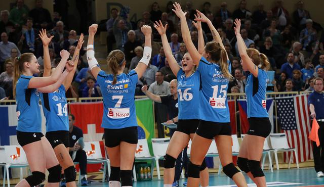 Wiesbaden steht im Europapokal-Viertelfinale - Foto: Detlef Gottwald