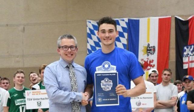 Beste Nachwuchsspieler Deutschlands als VIP zum Volleyball Supercup - Foto: Oldenburger TB
