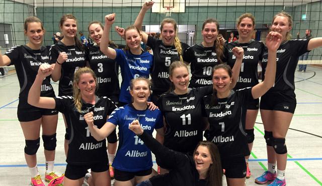 VC Allbau Essen ist Doublesieger. Bezirkspokal Hattrick perfekt! - Foto: VC Allbau Essen