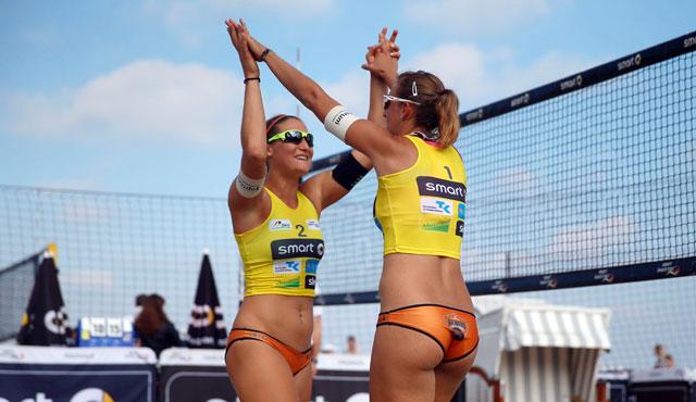 Turnierplan meinte es nicht gut mit NawaRo Beach-Team - Foto: hoch zwei, smart-beach-tour.tv