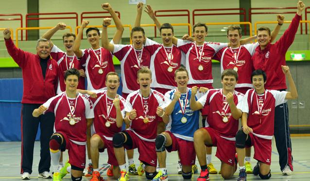 U20m sichert der TuS Kriftel den ersten Hessenmeistertitel 2015 im Volleyball - Foto: Frank Bachmann