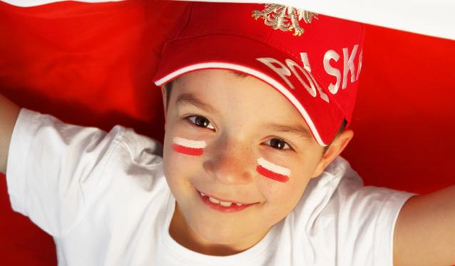 Polen: Die Weltmeister-Liga startet mit deutscher Beteiligung - Foto: Chłopczyk kibicuje polskiej drużynie © studioJowita / Fotolia.com