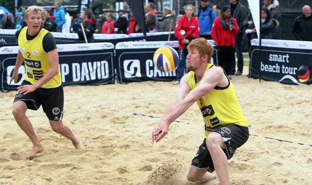 TC- Beachteam mit Supercup Ergebnis in Hamburg nicht zufrieden! - Foto: Kurt Meyer-Bergmann