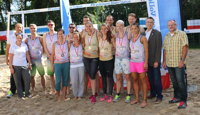 Grandioser Abschluss der Beachsaison - Foto: TuS Kriftel Volleyball