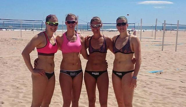 Natascha Niemczyk und Sabrina Karnbaum haben viel vor im Sand - Foto: NawaRo Beach-Team