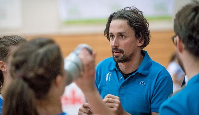 Benedikt Frank neuer Chefcoach bei NawaRo - Foto: Martin Gamper/Ti-Volley