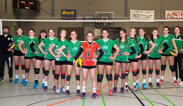 Teilnehmer der Deutschen Meisterschaften U18 weiblich stehen fest - Foto: Georg Kunz
