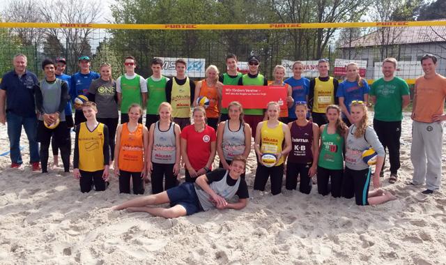 BVV-Beachkader trainierte in Schnaittenbach - Foto: Günter Dobmeier