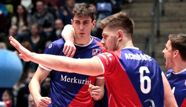 It's Aciobani-Time! - Foto: United Volleys/Gregor Biskup