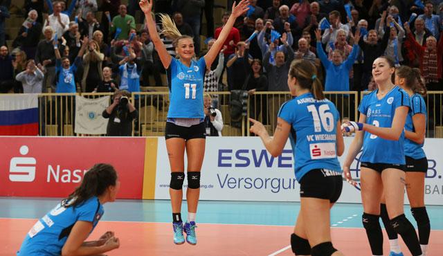 Siegesserie hält in Vilsbiburg: VCW sicher im Playoff-Viertelfinale - Foto: Detlef Gottwald