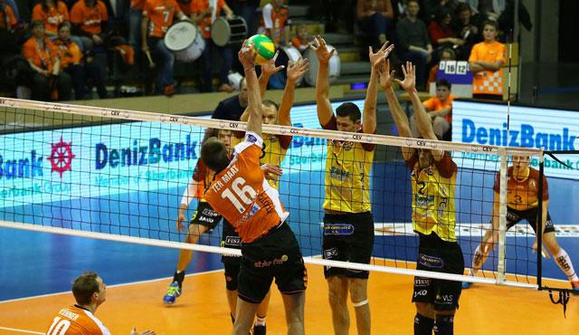 BR Volleys behaupten Tabellenführung in der Königsklasse - Foto: Eckhard Herfet