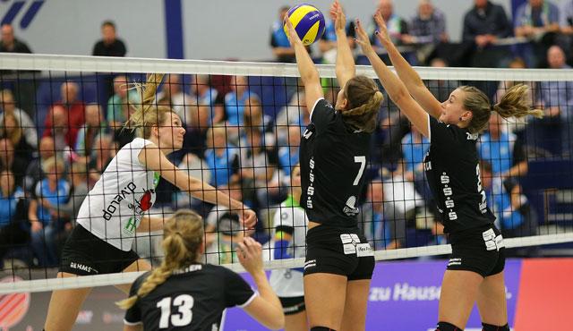VC Allbau Essen kämpft in Hamburg um die nächsten Punkte - Foto: Tom Schulte