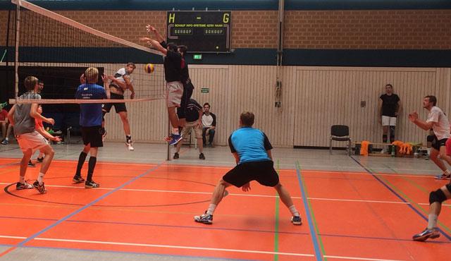 Piraten im Testspiel-Fieber - Foto: Chemie Volley Mitteldeutschland e. V.